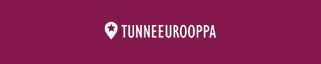 Logo, missä lukee Tunne Eurooppa